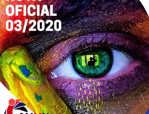 Nota Oficial 03/2020